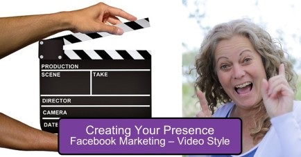 Marketing Video Style document fb post visual