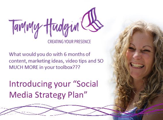 social media strategy poster for website